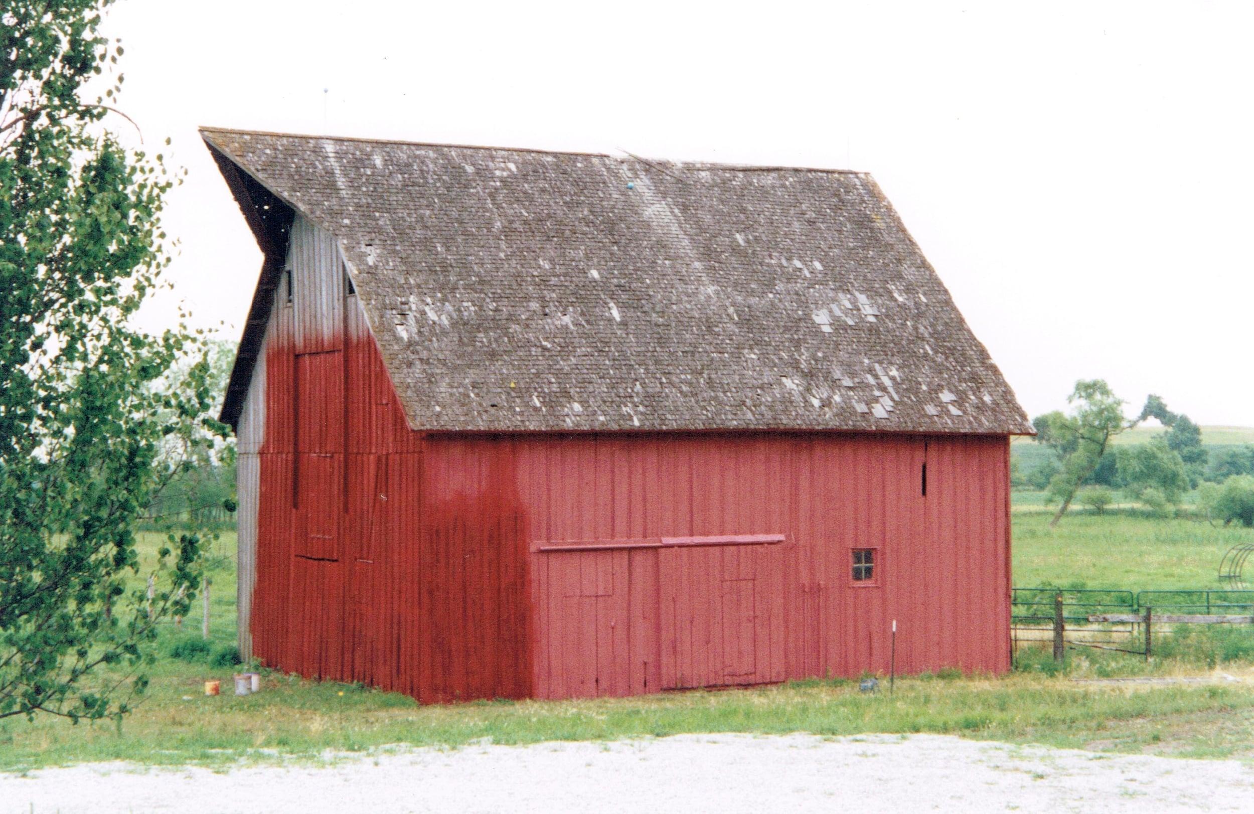Repainting the barn.jpg
