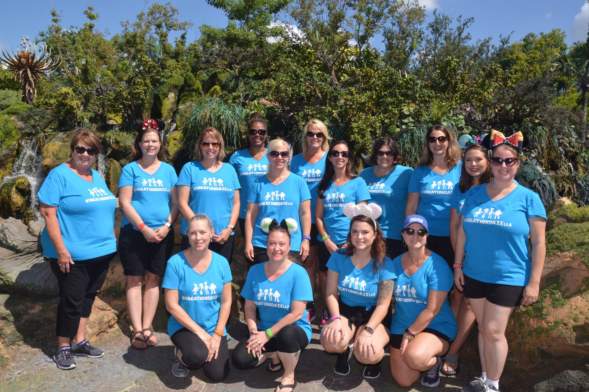 Our Vacation Daze team during a recent trip to Walt Disney World!!