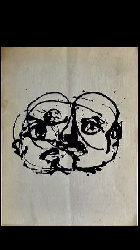 """Jackson Pollock"",  1951, Exhibition Catalogue, Betty Parsons Gallery NYC."