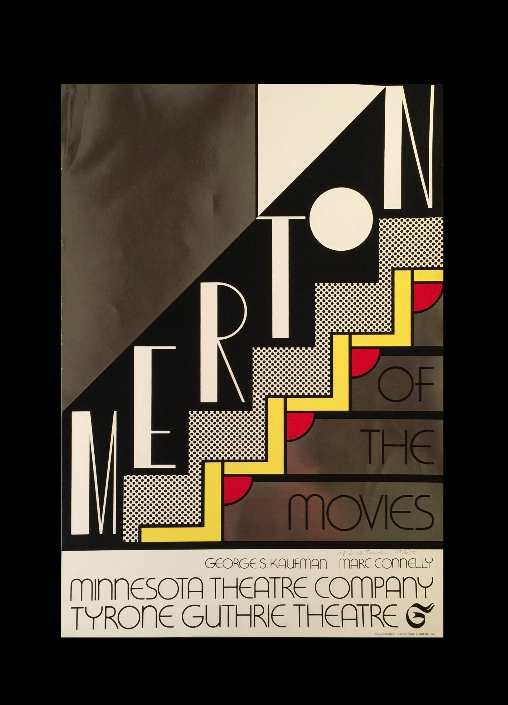 """""""Merton of the Movies"""",  1968, Signed Edition, Sonnebend/Castelli Estate."""