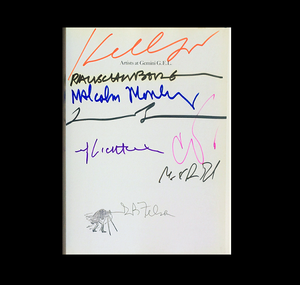 """""""25 Years Studio"""",  1993, Signed by 8 Contemporary Artists, Gemini G.E.L."""