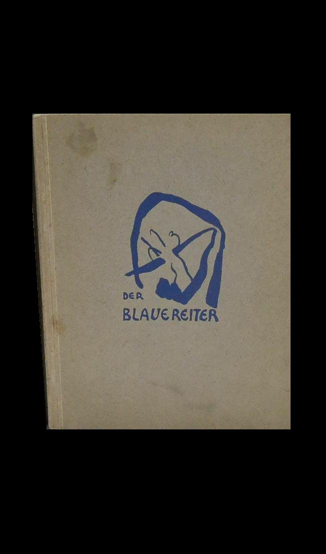 """Blue Rider "" (Der Blaue Reiter) - The Second Exhibit Catalogue, 1911-12, Cover by Kandinsky."