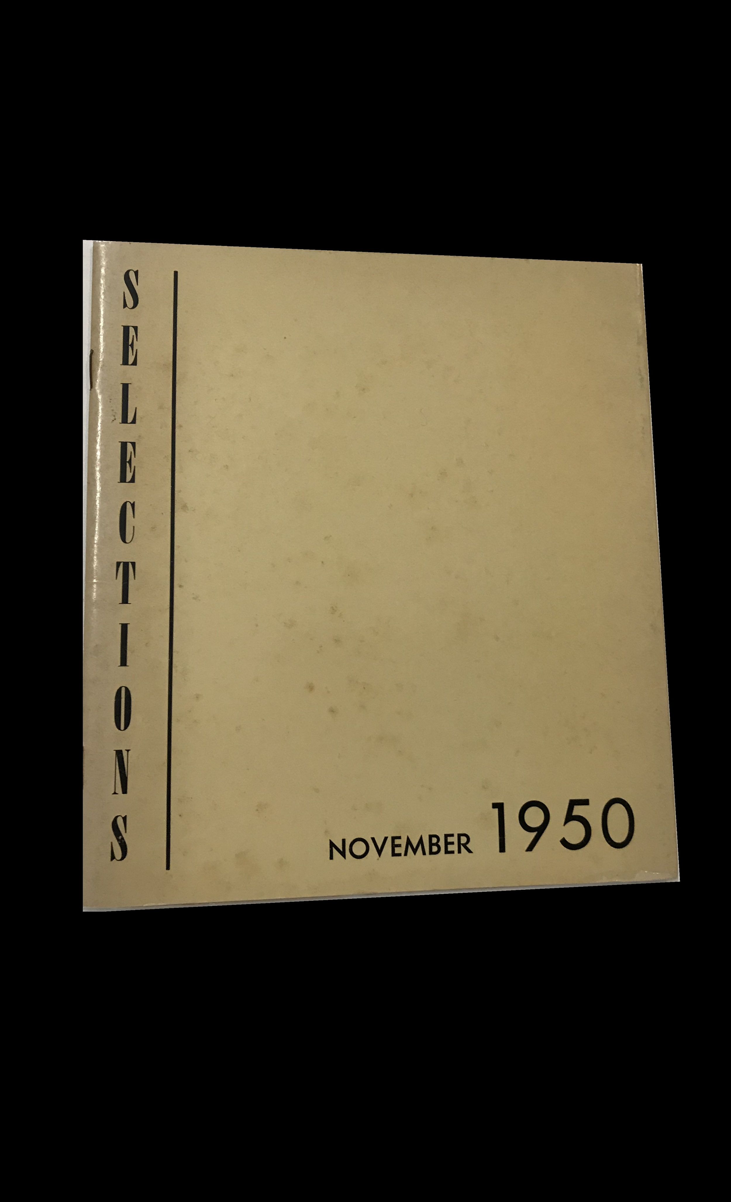 """SELECTIONS- November 1950"",  Pierre Matisse Gallery NYC, balthus BRAQUE chagall DERAIN dubuffet GIACOMETTI gris MATISSE"