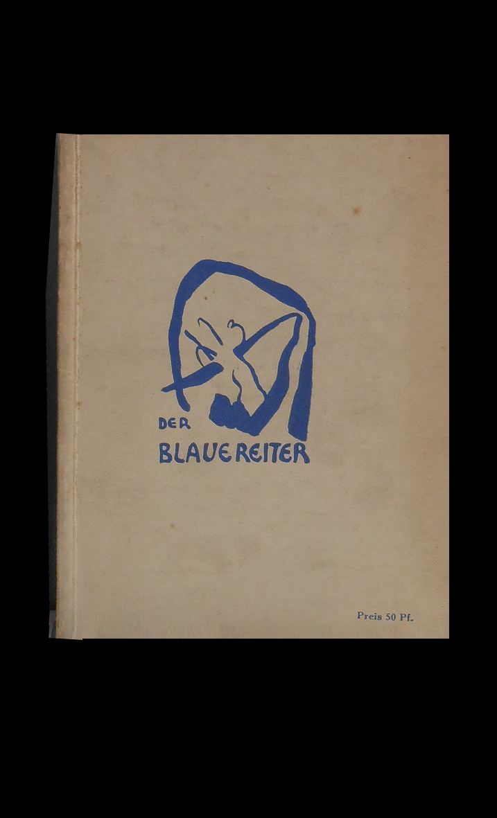 """Blue Rider "" (Der Blaue Reiter) - The Second Exhibition Catalogue, 1912, Cover by Kandinsky,  SOLD"