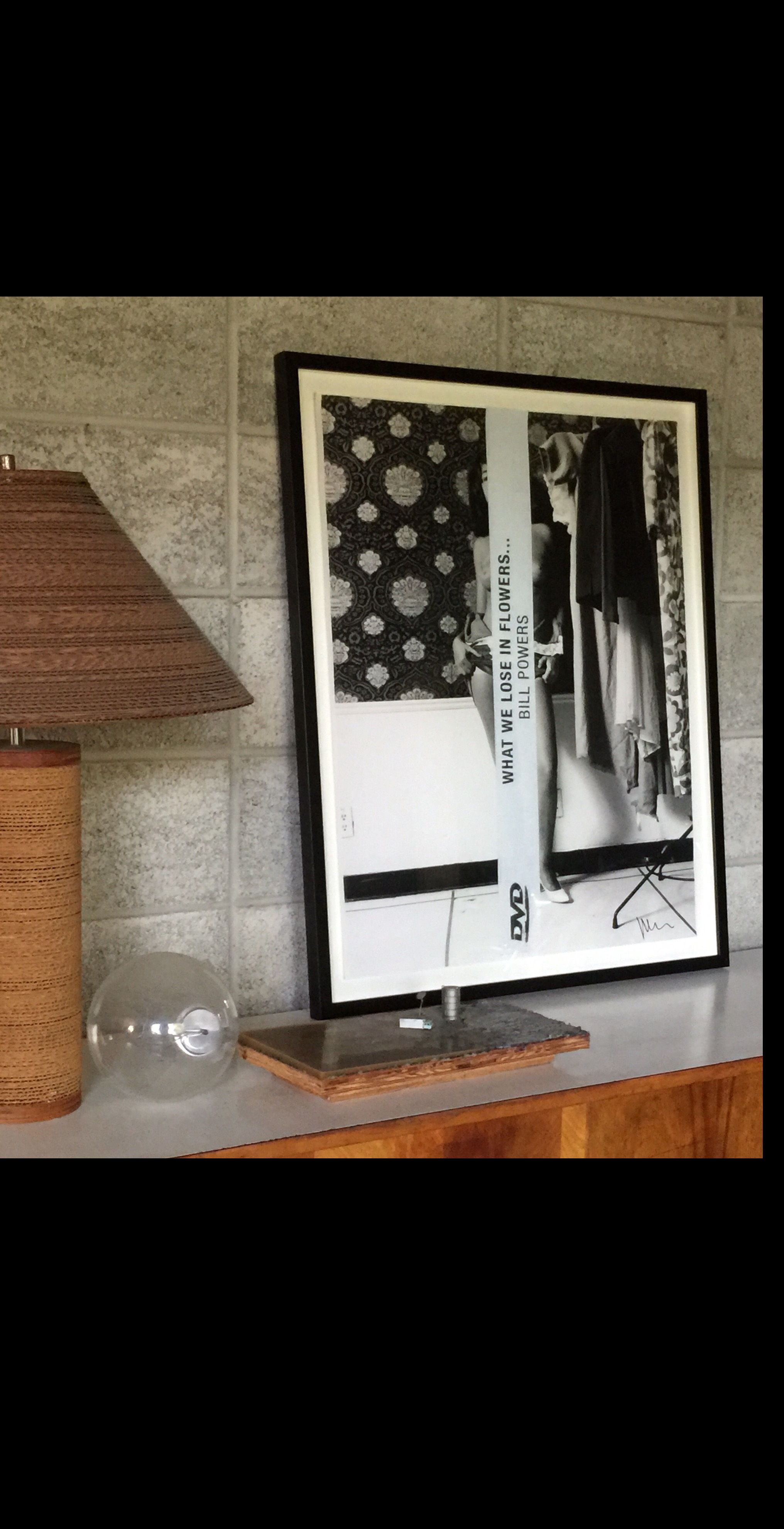 """What we Lose in Flowers."",  2012, SIGNED, Archival inkjet print, FRAMED."