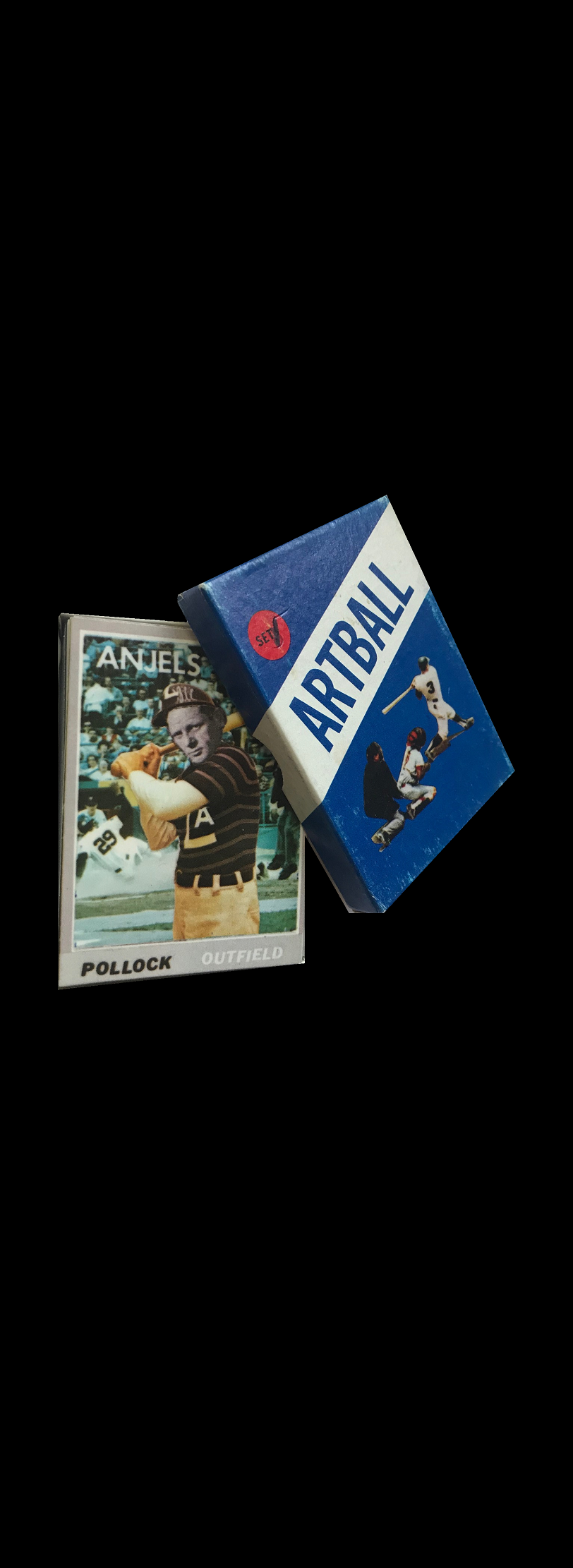 """ARTBALL"" - SET #1, 1971, Don Celender, Edition Playing Cards."