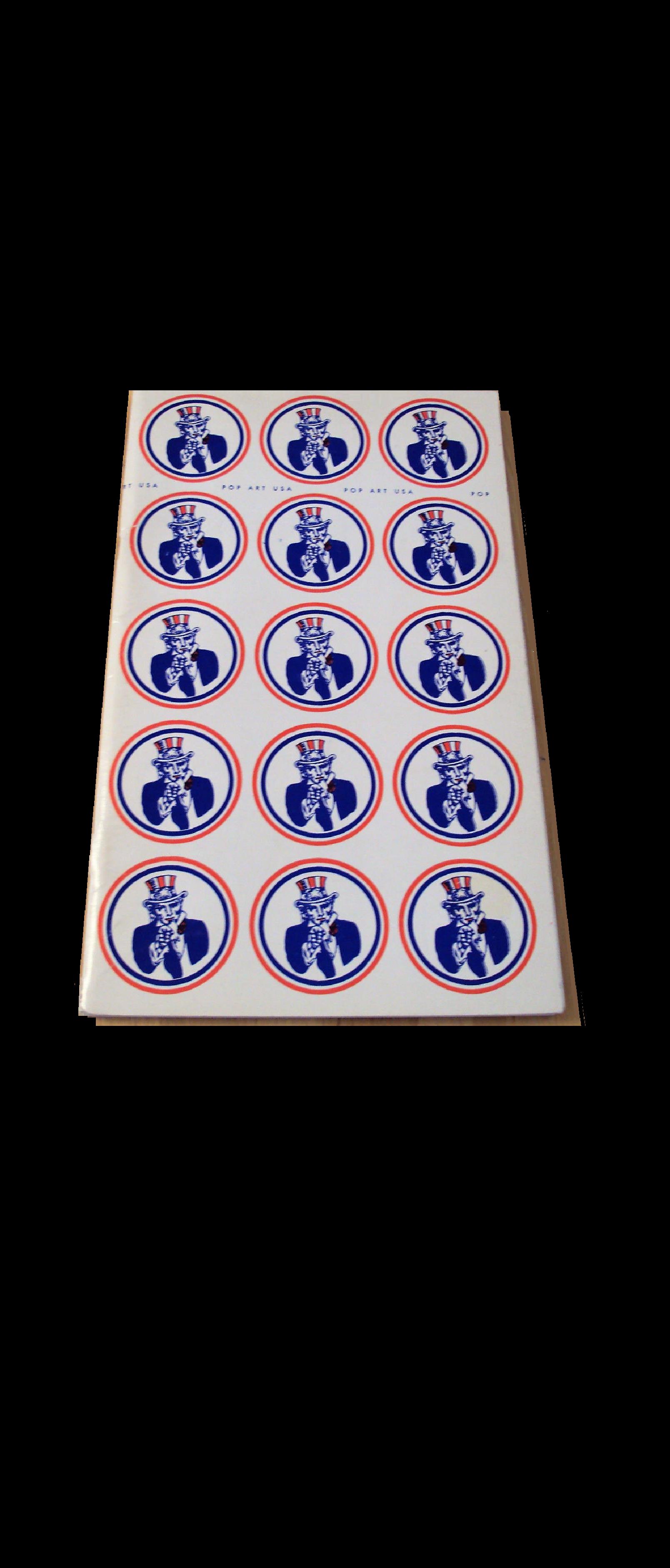 """""""POP ART USA"""" , 1963, Exhibition Catalogue, Oakland Art Museum/ College of Arts & Crafts,  Warhol, Coplans, Ruscha, Lichtenstein, Thiebaud, Ramos"""