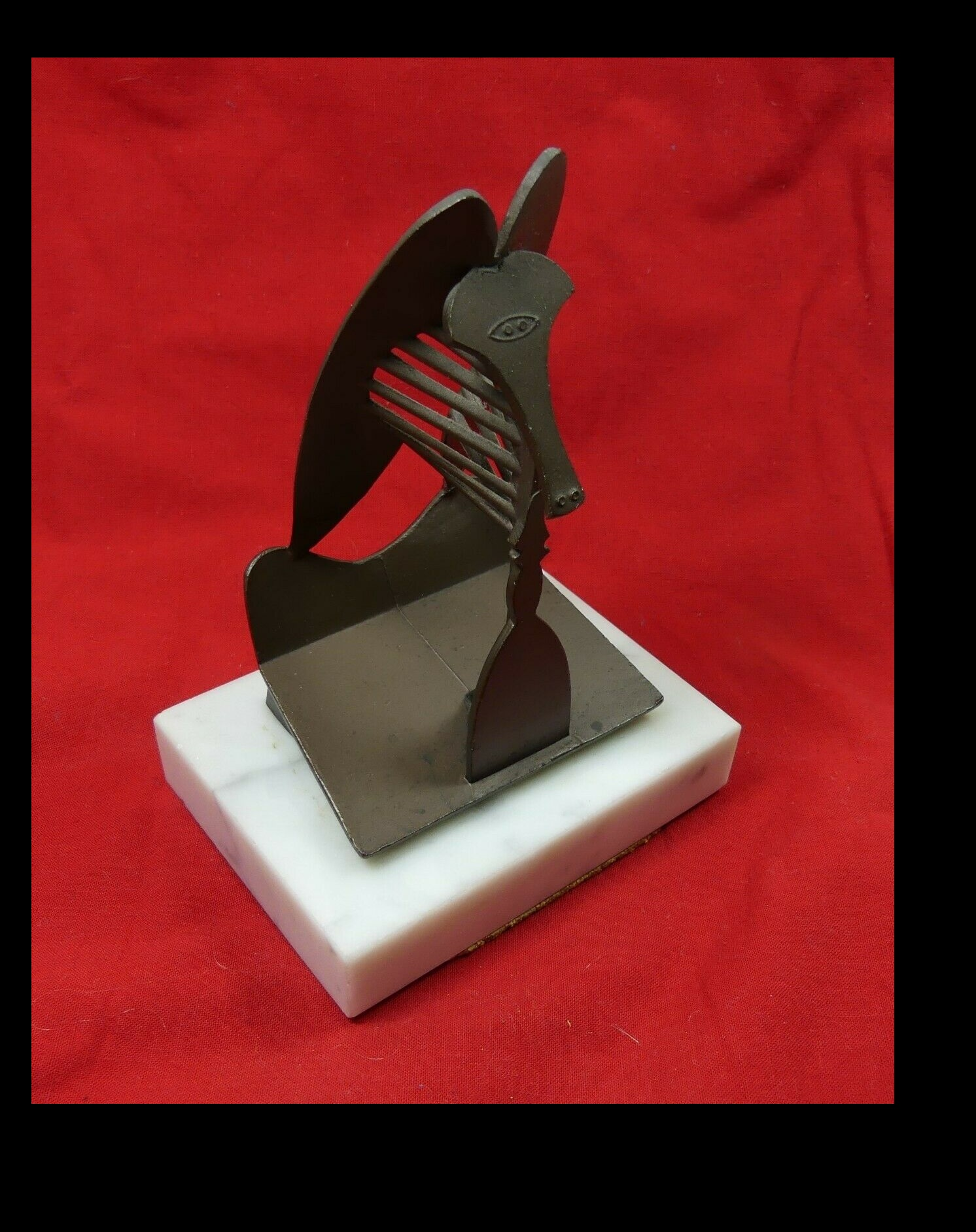 "pablo PICASSO""Untitled"" , 1967, Miniature Replica Sculpture,"