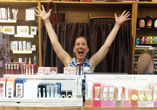 Bex is PUMPED about Pacifica Beauty