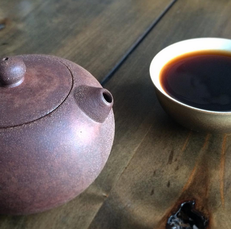 A pot of Pu-erh tea - one of our favorite restorative rituals. Photo via Rishi Tea.