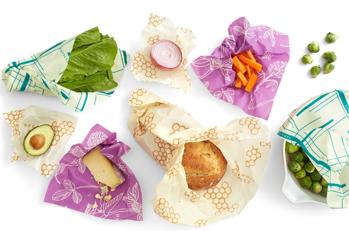 Bees Wrap reusable food wrapping
