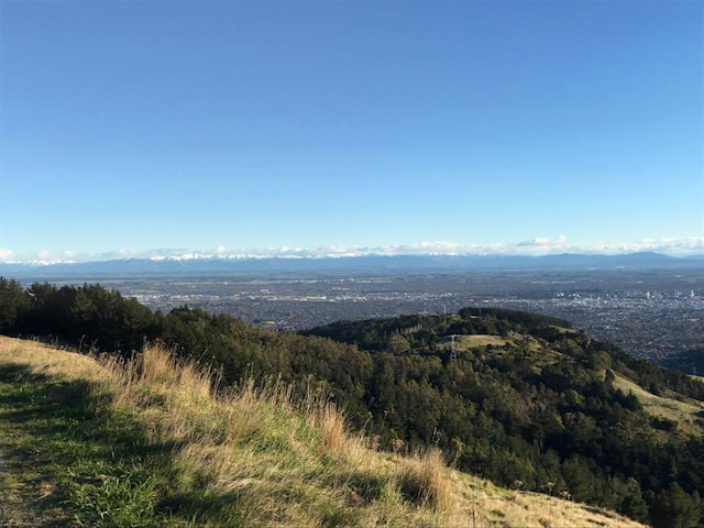 Summit Road, your Saturday run location this week