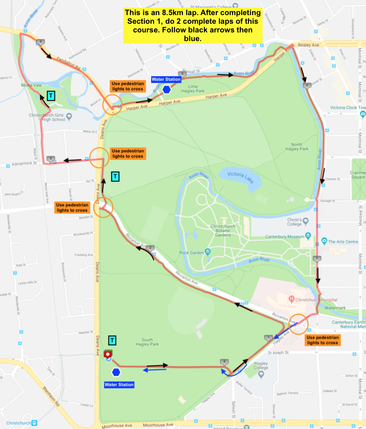 Section 2 Course Map