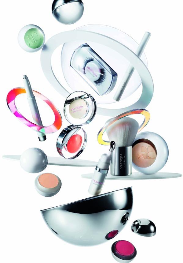 CourrègesMake up 15'Collection Campaign design -