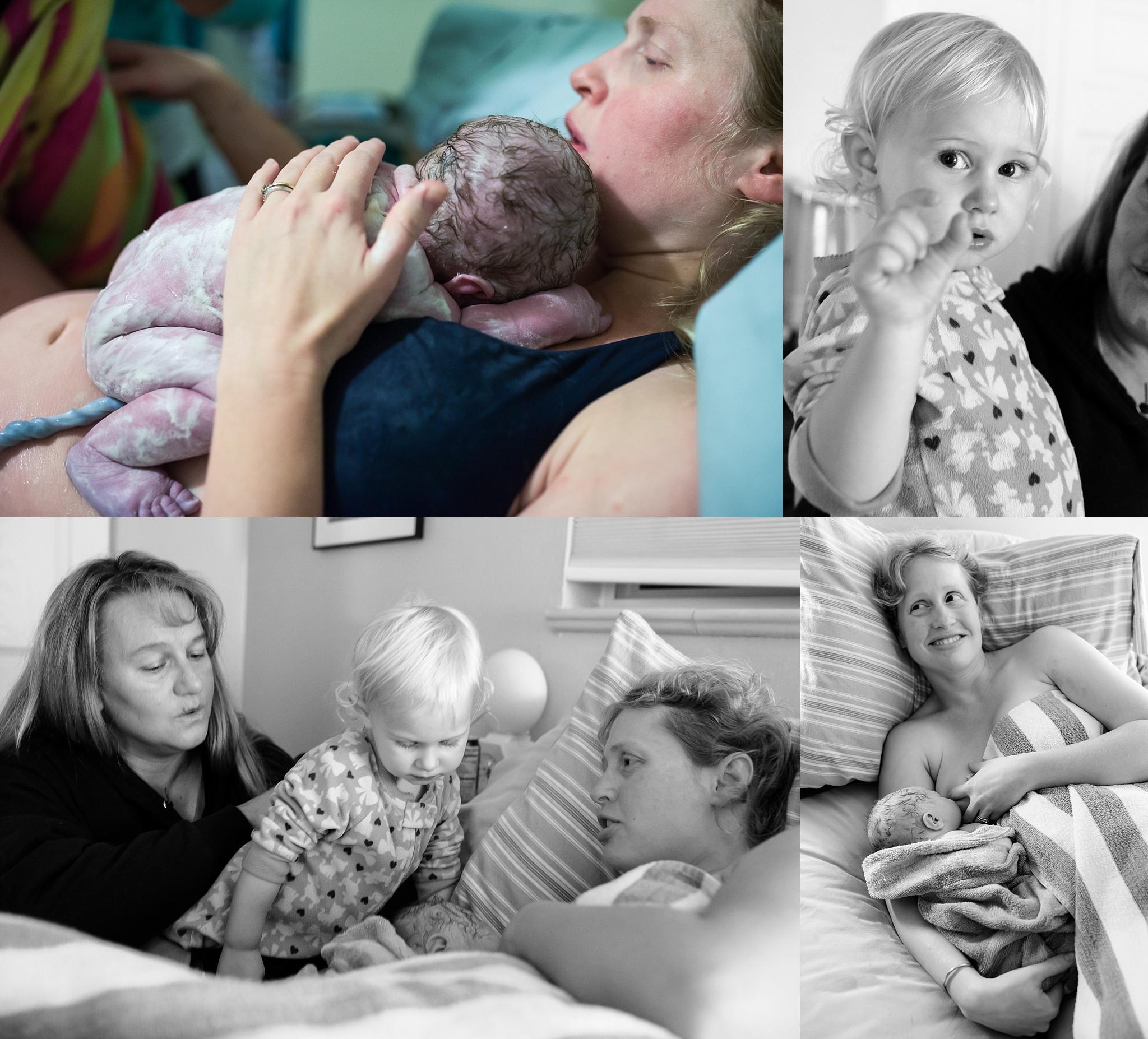 Denver-birth-photographer-settling-in-bed