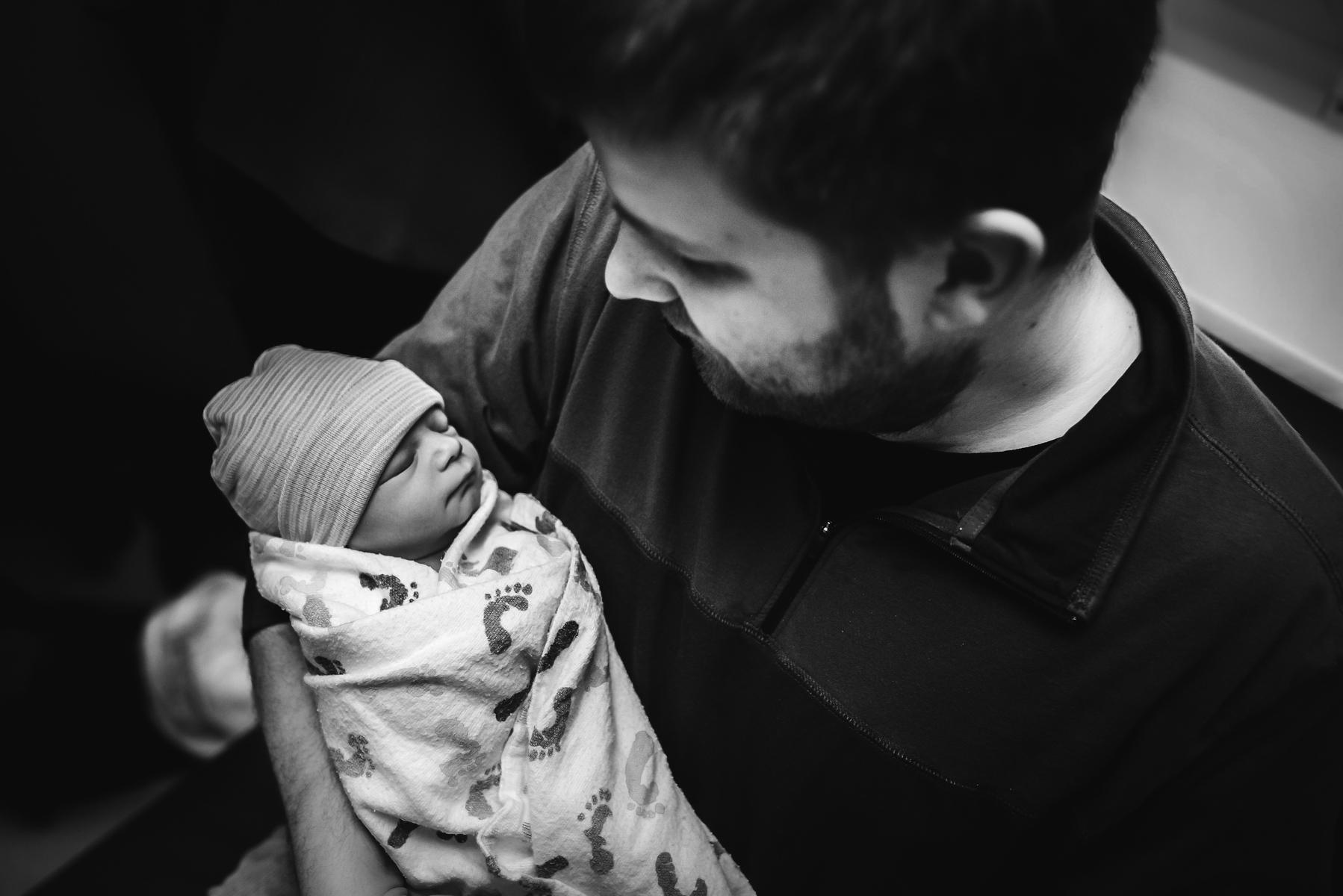 Swedish-Medical-Center-Denver-Dad-Holds-Baby
