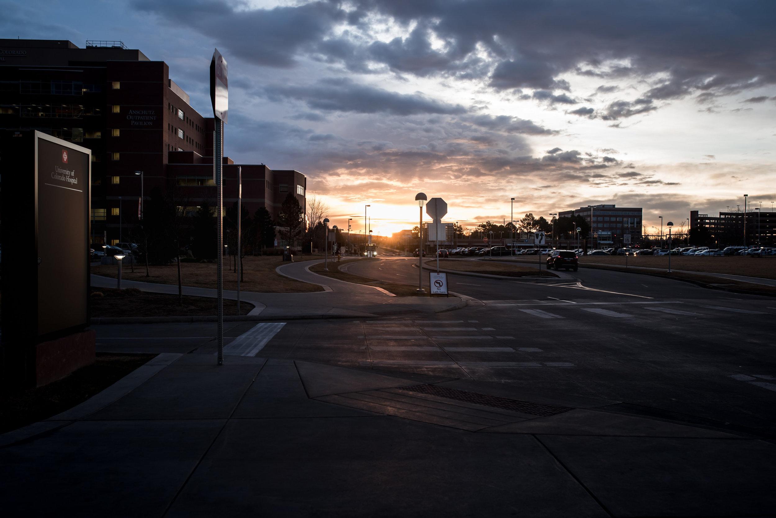 University-colorado-early-morning