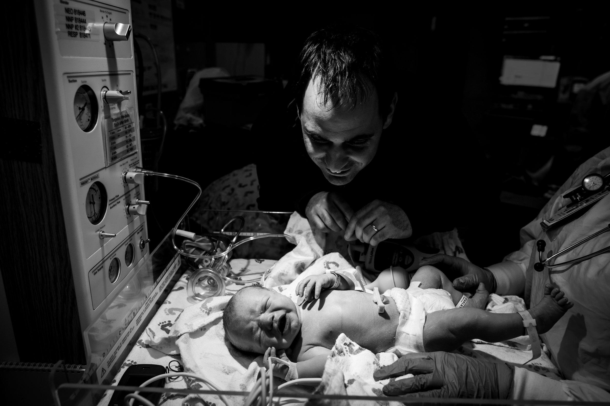 Hospital Birth in Denver Colorado-Monet Nicole