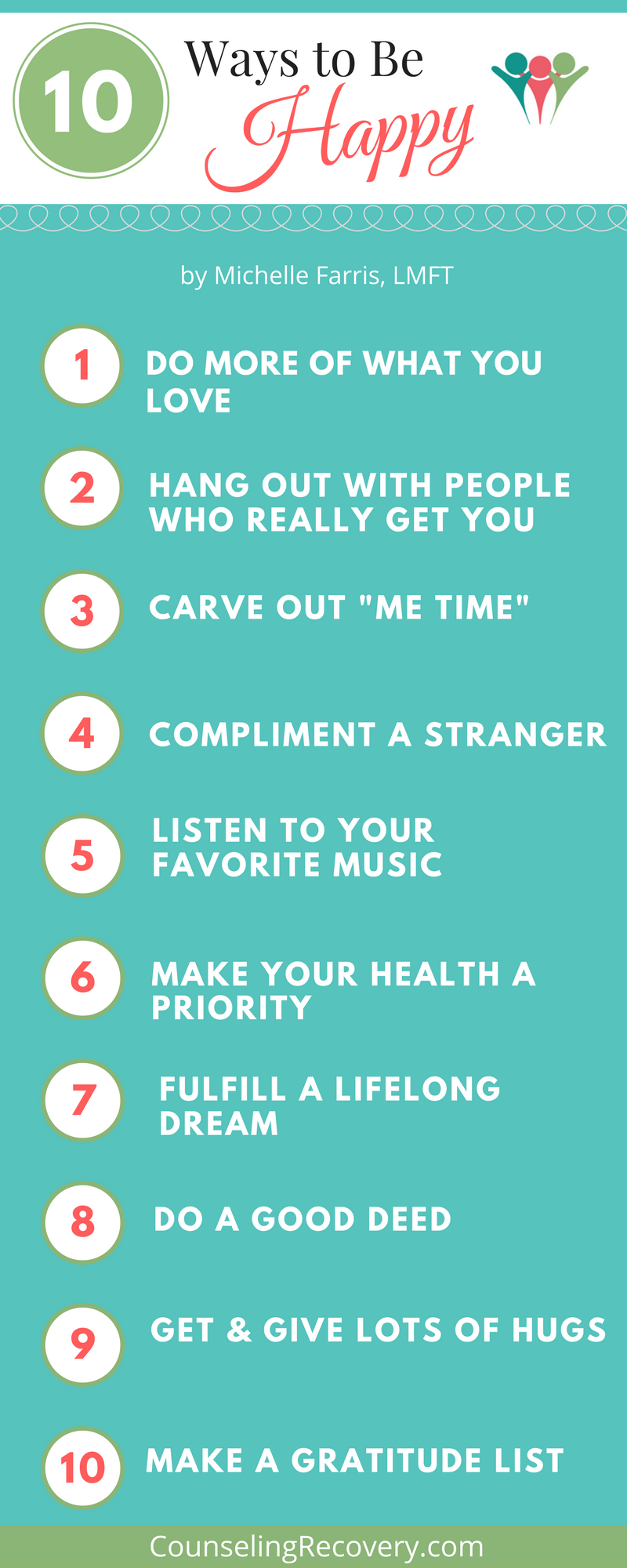 Tips on how to be happy
