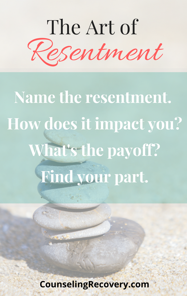 Letting resentments go