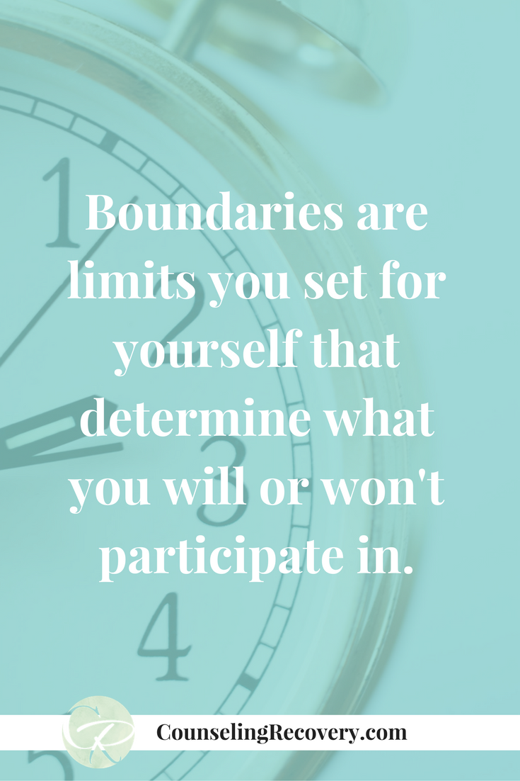 How to start setting healthy boundaries