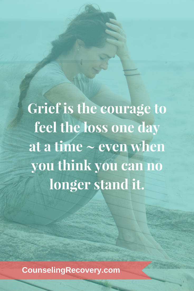 Tips for managing the painful road of grief