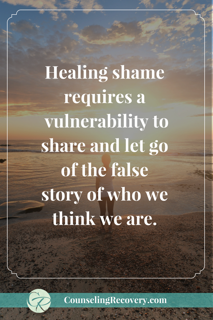 How to release the false story of shame and being to heal self-esteem