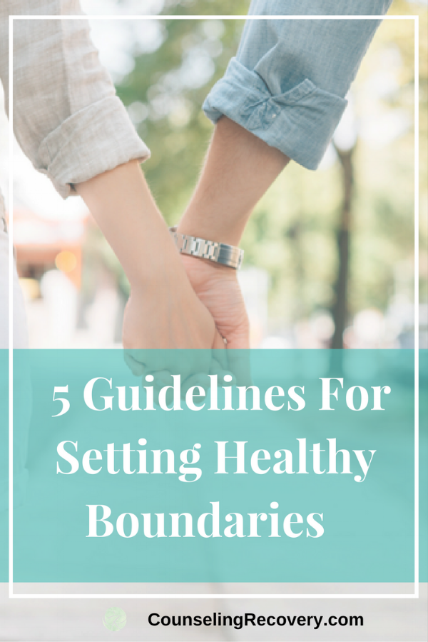 Guidelines for Setting Healthy Boundaries