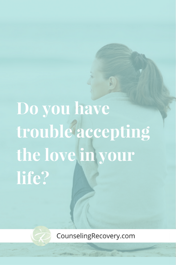 Blog  on accepting love in relationships