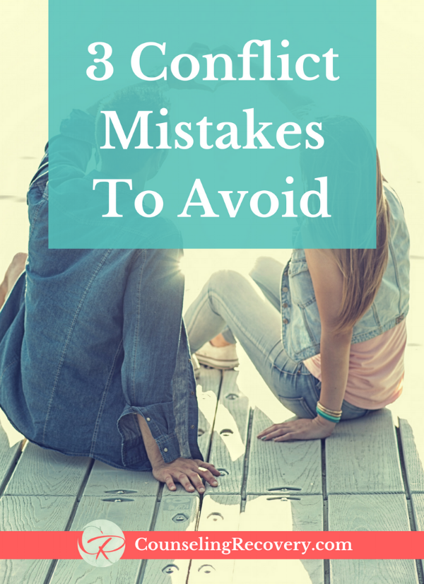 Conflict resolution mistakes blog
