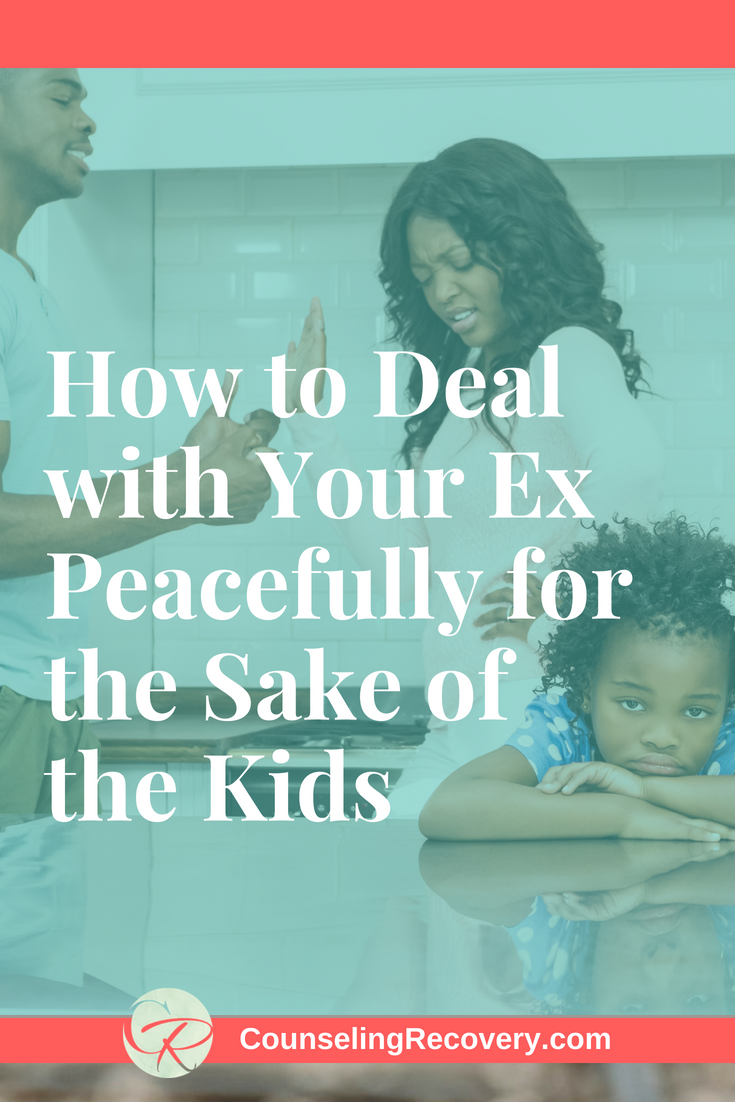Tips for dealing with your ex peacefully