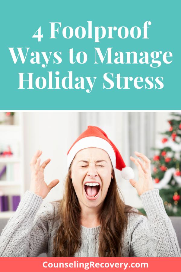 Managing Holiday Stress Blog