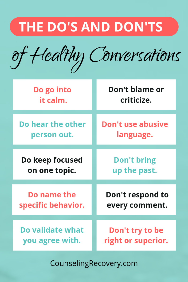 Do's and Don'ts of Communication for Relationship Advice for Women
