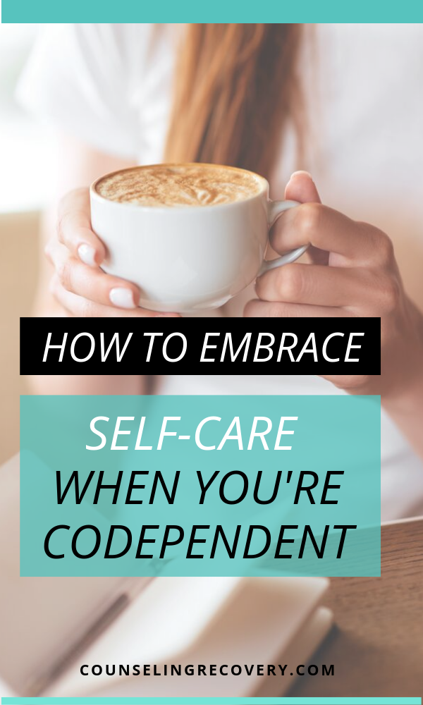 Self-care for codependents article