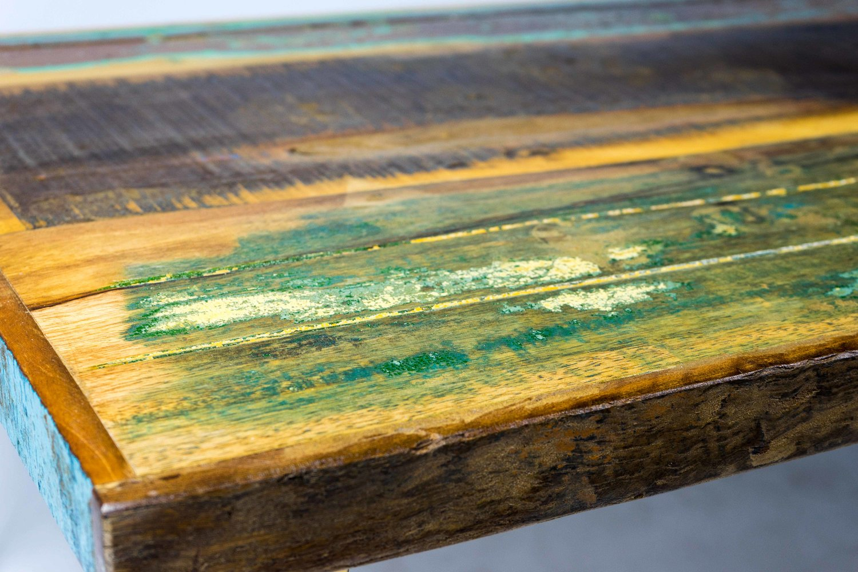 Reclaimed Wood Hairpin Leg Coffee Table