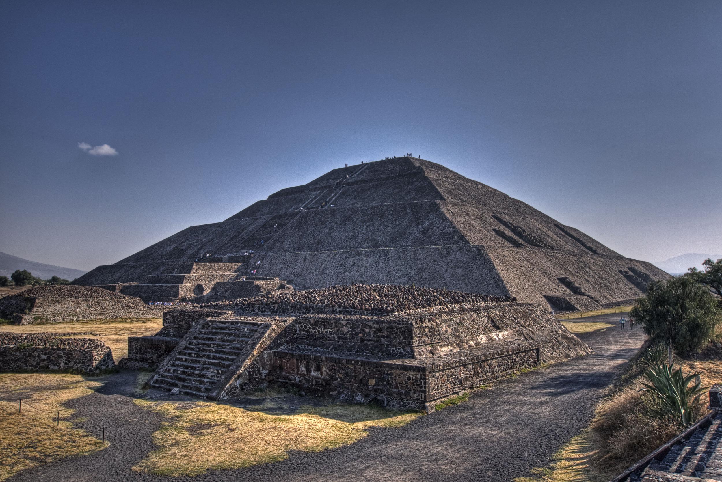 A pyramid, Latin American style.
