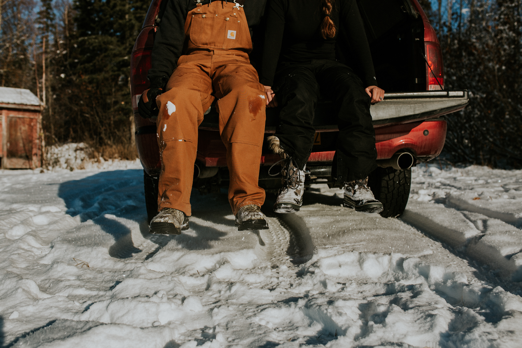 Carhartt in Snow