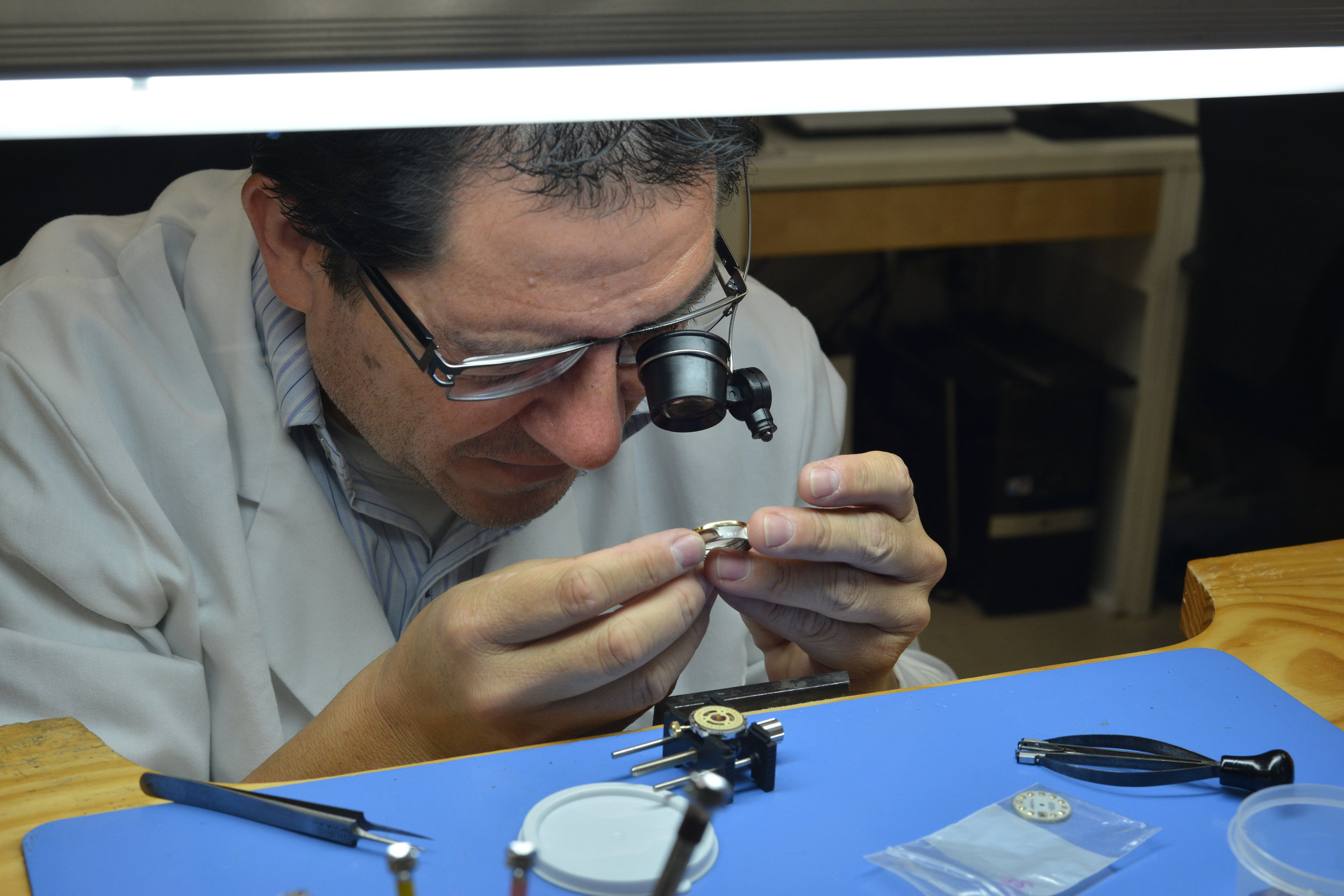 At Turley Jewelers we examine every previously owned watch carefully to check for original parts and functionality.