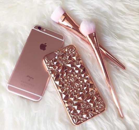 The color of rose gold is popular for things ranging from cosmetics to cell phones!