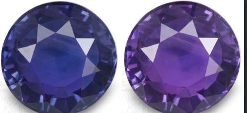 Color-change Sapphire