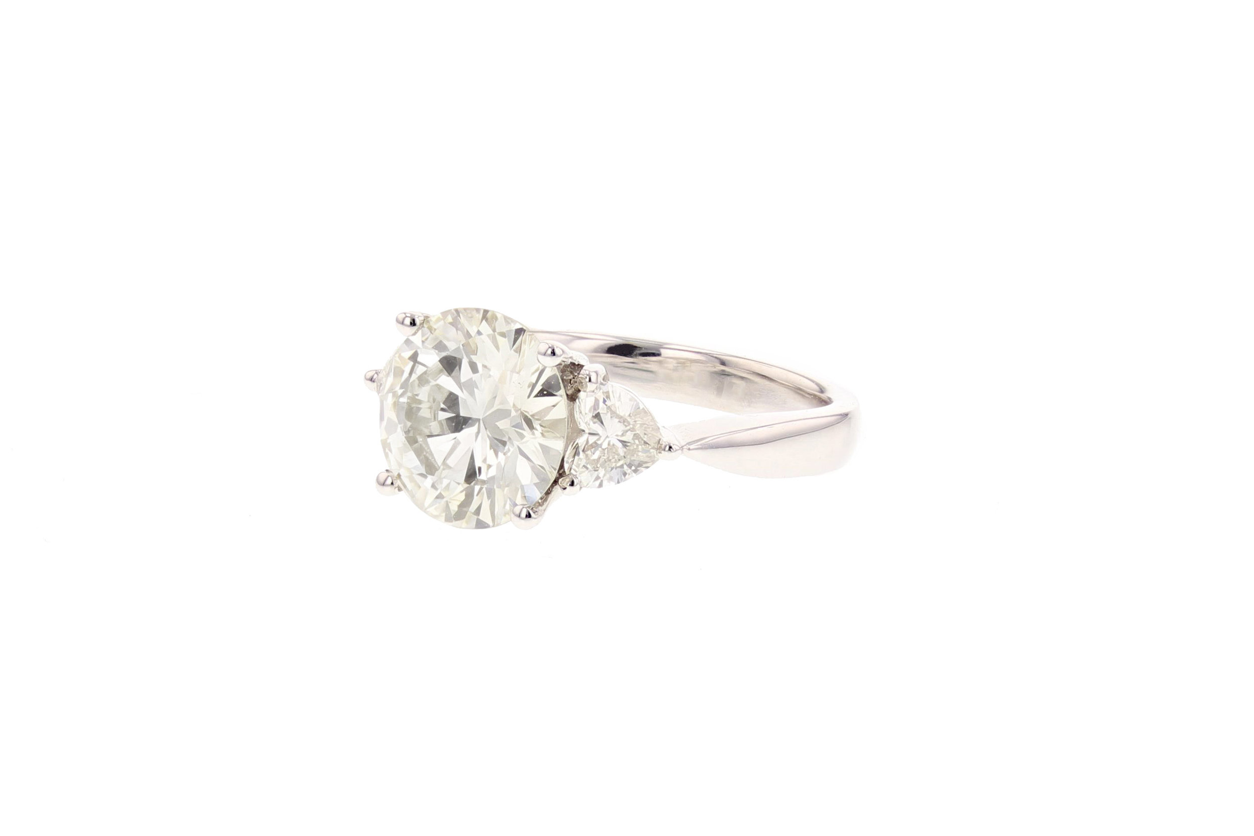 3.65 ctw. Diamond ring. $28,465