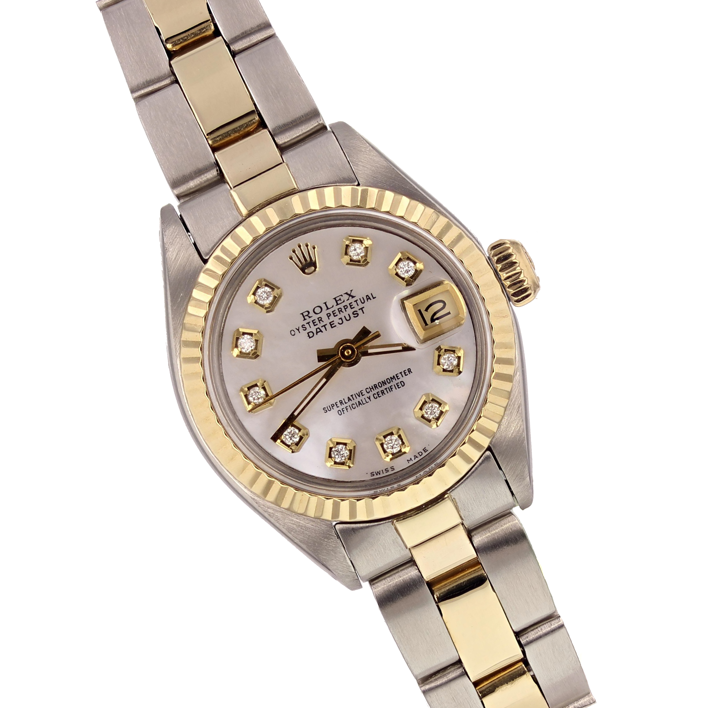 Rolex Ladies 18K Yellow Gold/SS Oyster Datejust