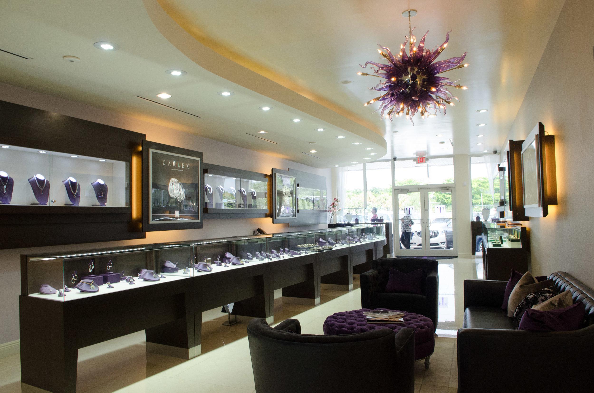 turley jewelers showroom front