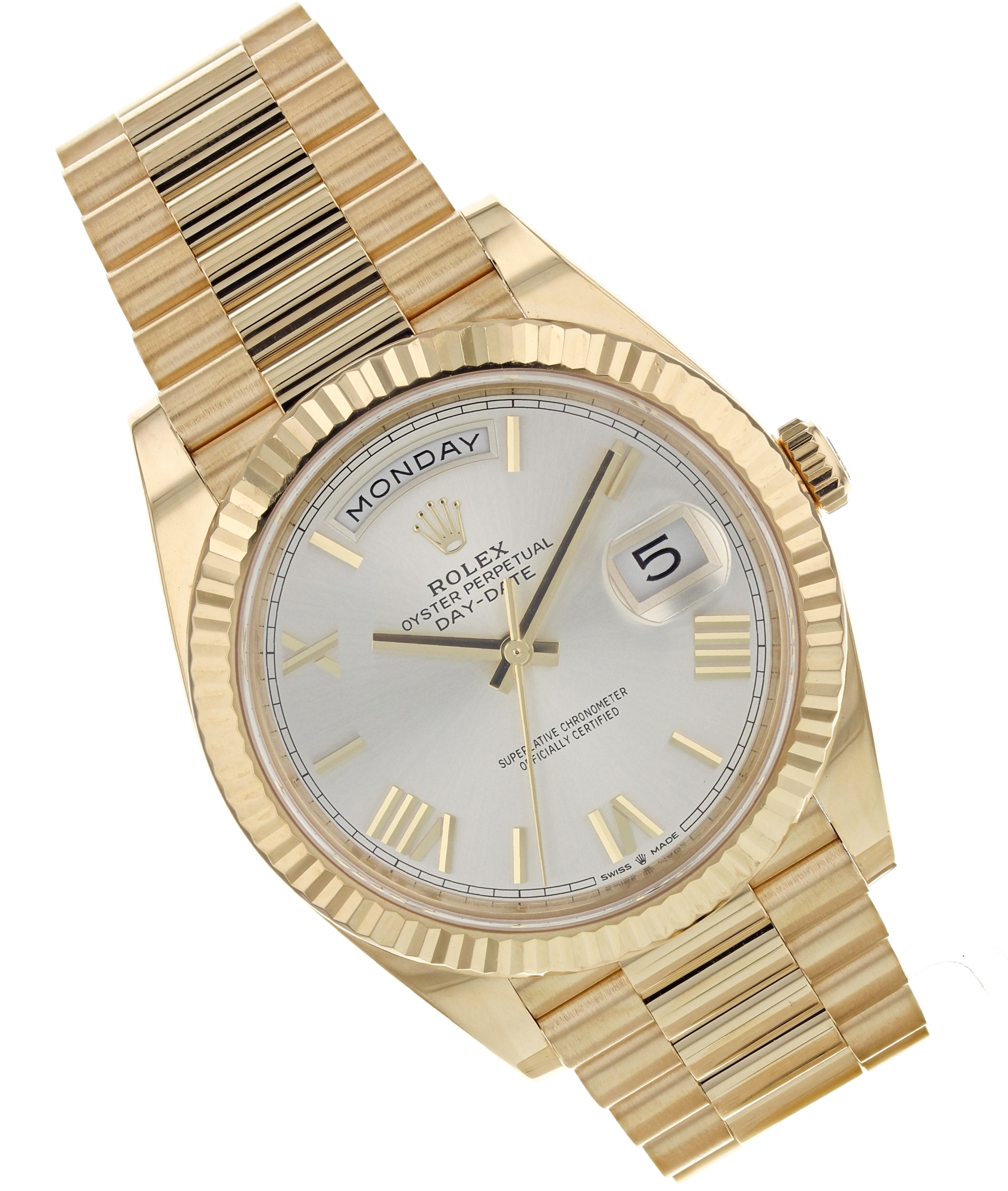Rolex 18K Yellow Gold Day/Date Presidential