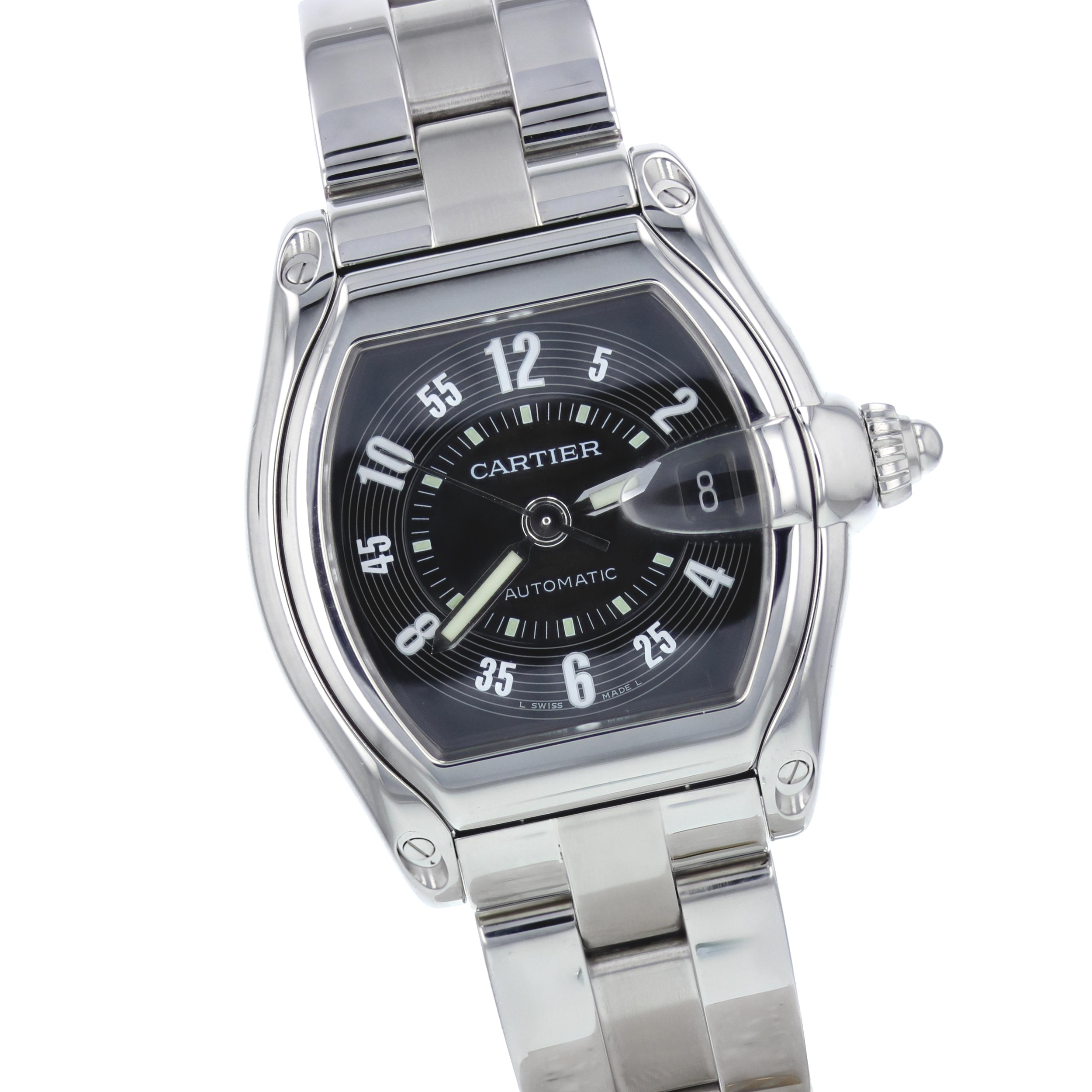 Cartier stainless steel Roadster automatic