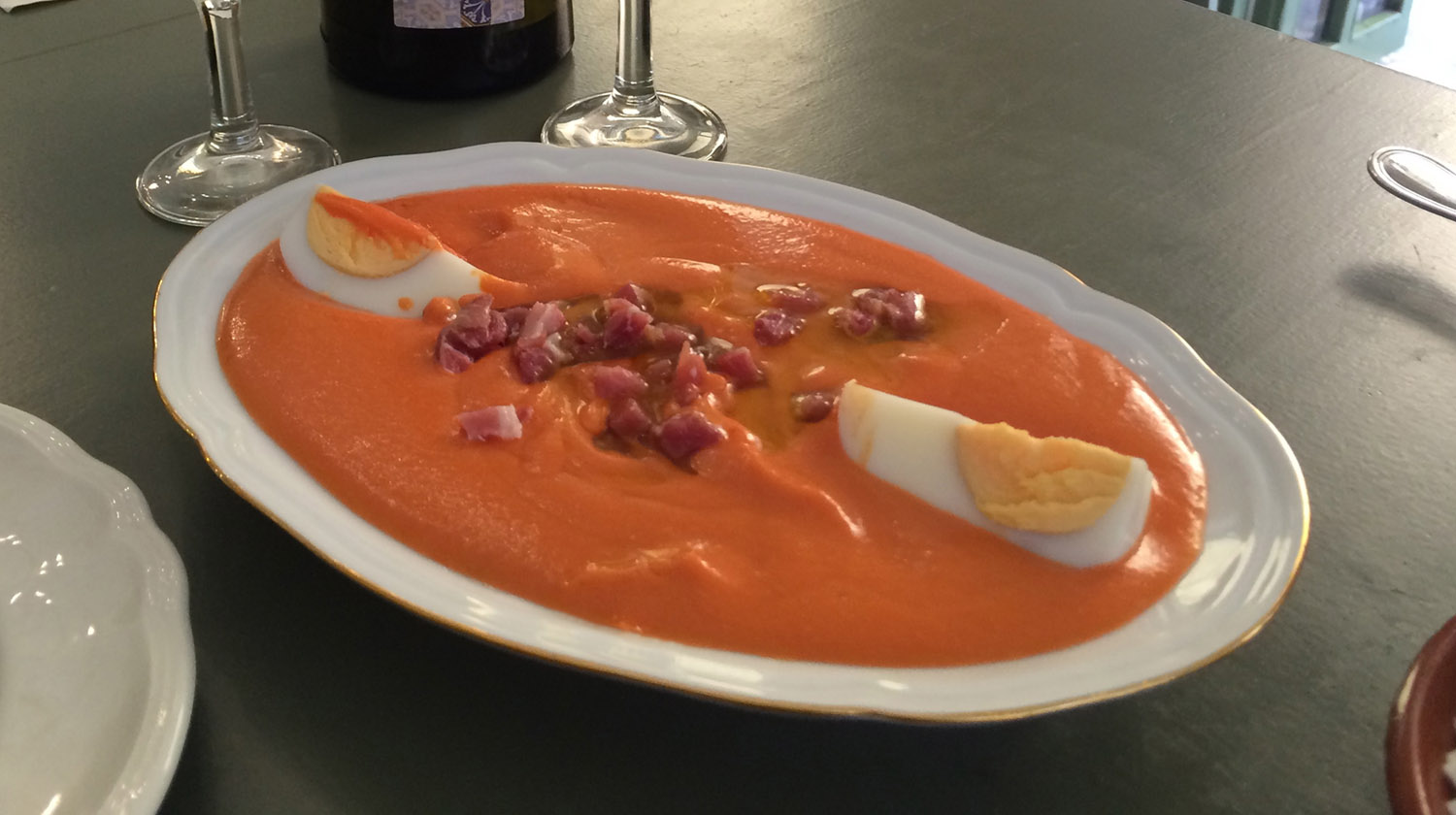 Salmorejo in Cordoba- the most delicious and healthy lunch you could wish for-