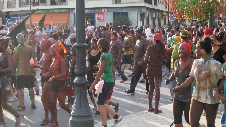 The festival of Cascamorras in Guadix