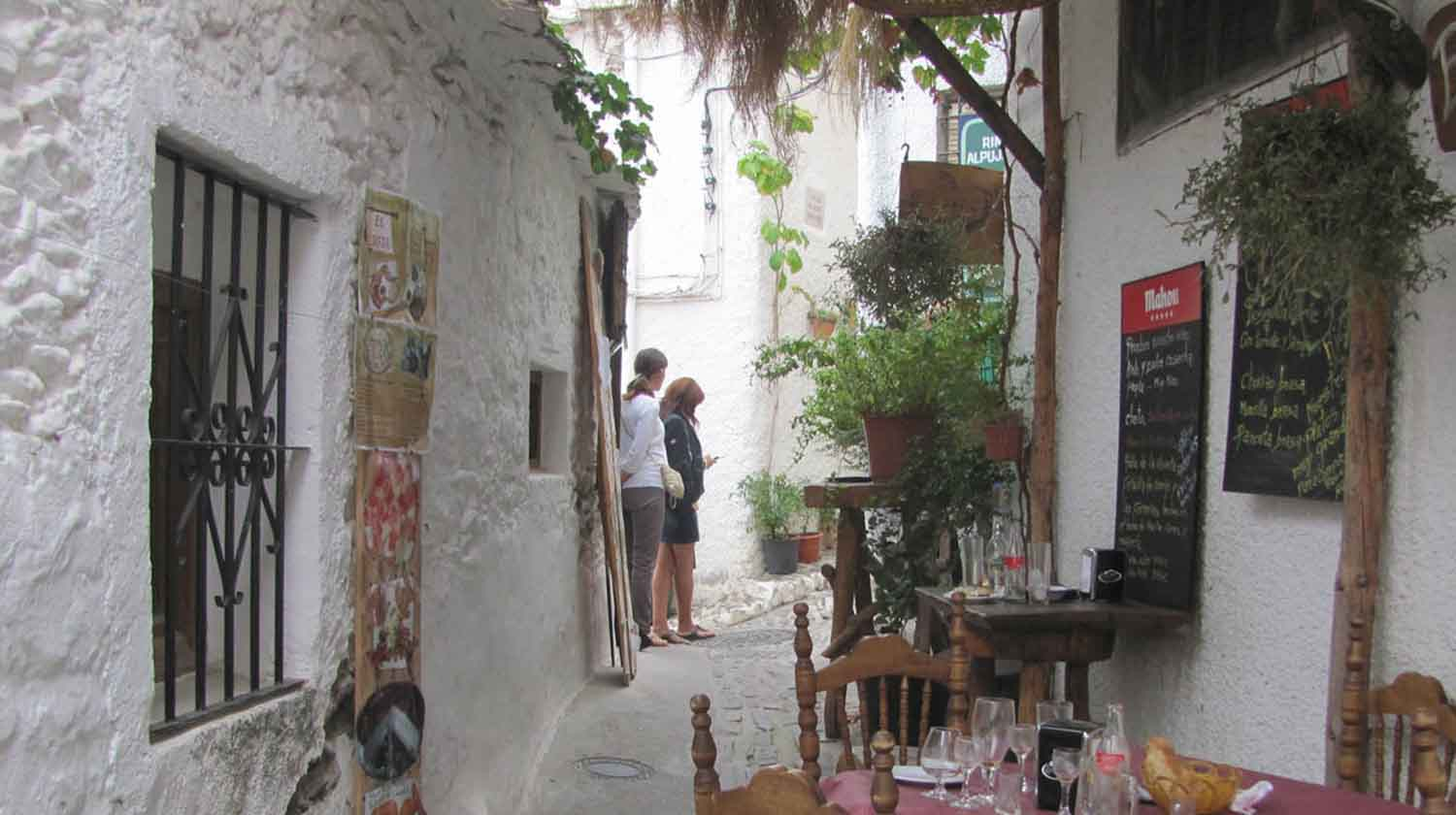 A charming street in Pampaneira