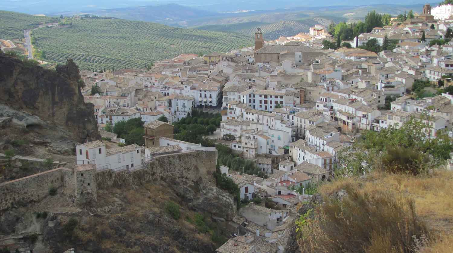 Cazorla, as seen from above