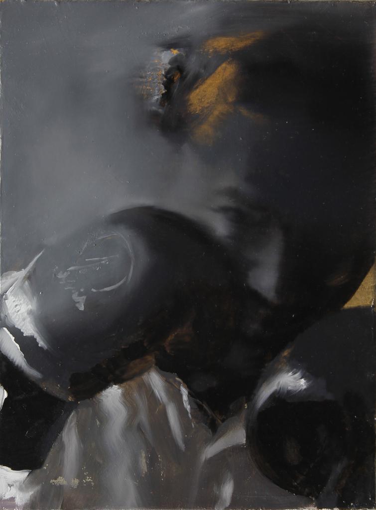 POZIȚIA ARTISTULUI, 2014  40x30cm, ulei pe pânză